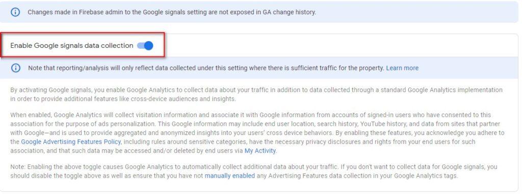 Google Signals GA4